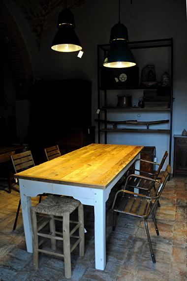 tavolo da cucina industrial