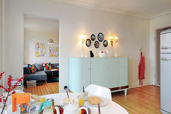 Appartamento vintage idee da copiare for Arredamento vintage roma