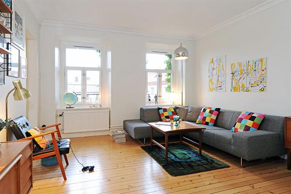 Idee Arredamento Soggiorno Vintage : Scandinavian Living Room Design