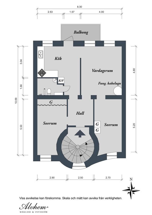 mappe appartamento svedese