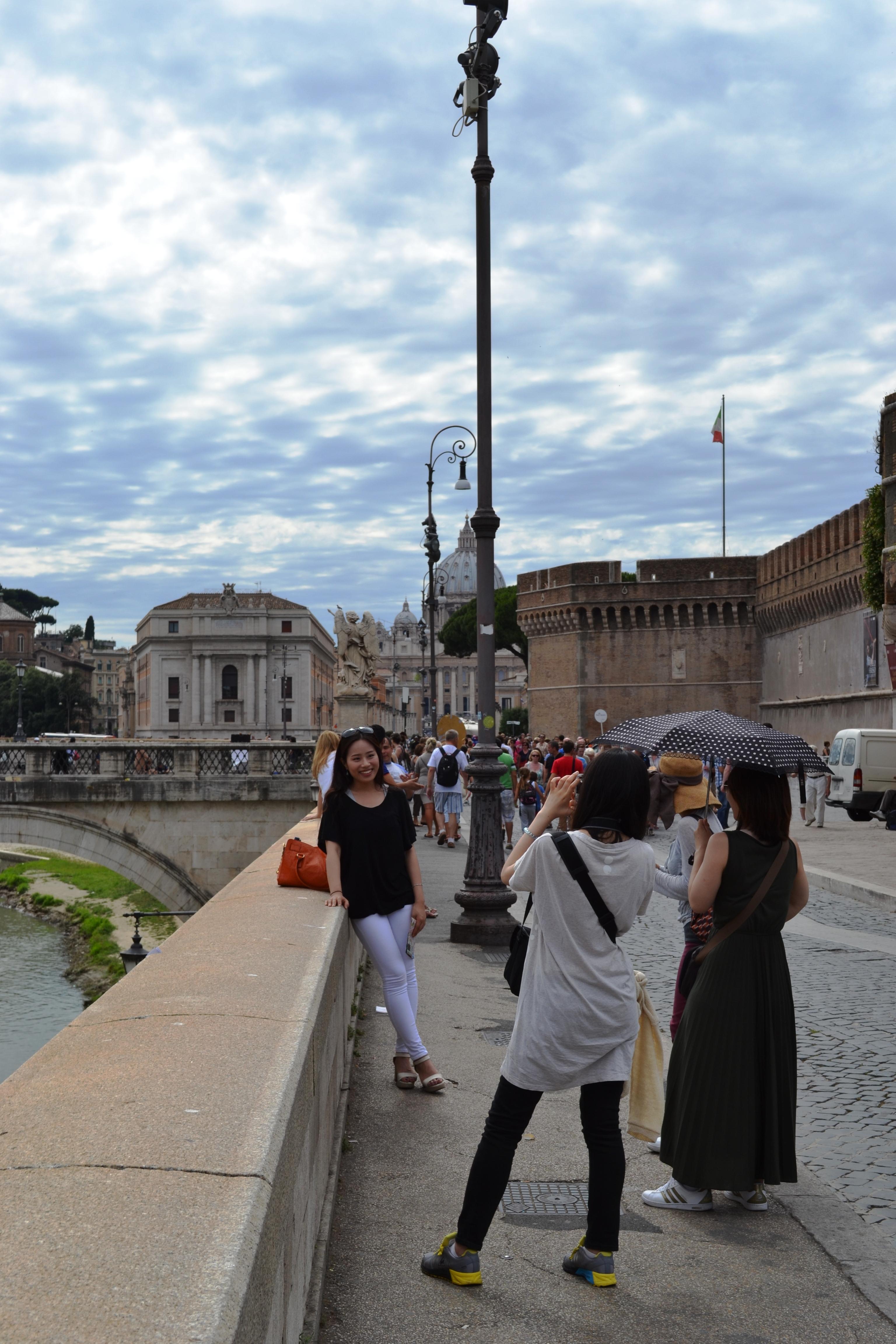 turisti giapponesi Roma