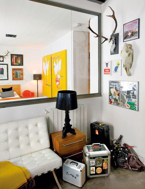 Idee per arredare loft for Accessori casa design