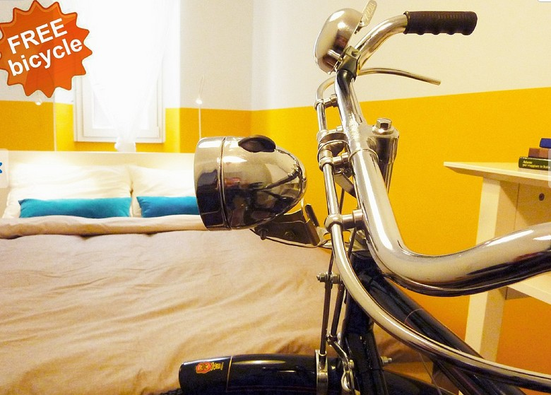 bed and breakfast Trastevere biciclette gratis