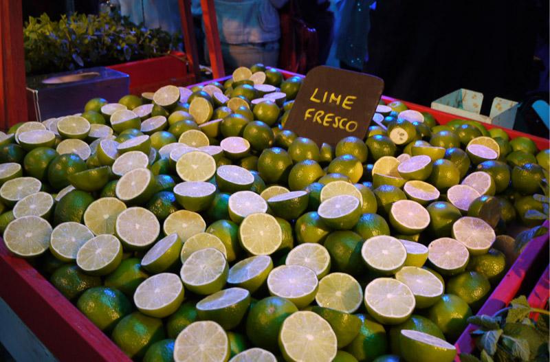 ingredienti mojito lime