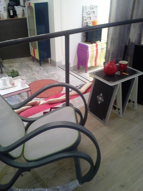 sedia dondolo design