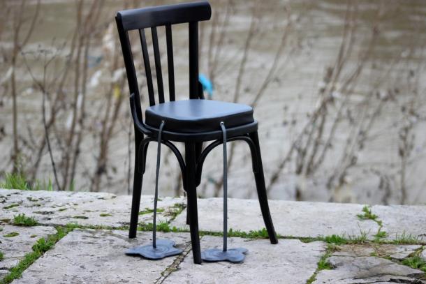 sedia anni 50 redesign
