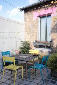 terrazzo colorato