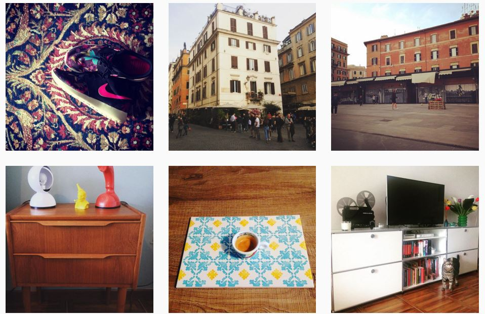blog design instagram Roma